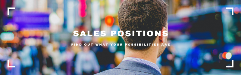 What Are The 9 Main Sales Positions?
