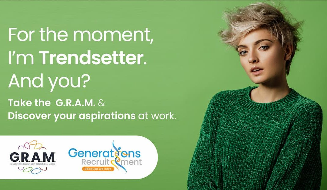 Are you a Trendsetter? Discover our G.R.A.M. profile of the week!